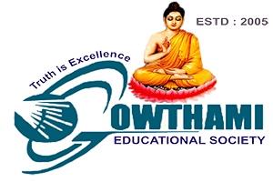 gowthami college logo